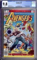 Avengers #183 CGC 9.8 w