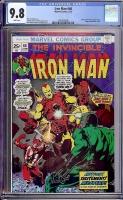 Iron Man #68 CGC 9.8 w