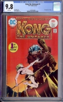 Kong the Untamed #1 CGC 9.8 w