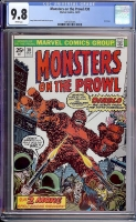 Monsters on the Prowl #30 CGC 9.8 w