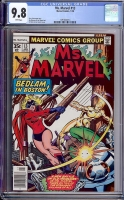 Ms. Marvel #13 CGC 9.8 w
