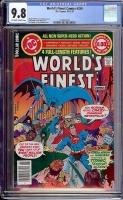 World's Finest Comics #259 CGC 9.8 ow/w
