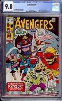 Avengers #88 CGC 9.8 ow/w