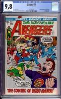 Avengers #98 CGC 9.8 w