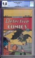 Detective Comics #27 CGC 9.8 w REPRINT