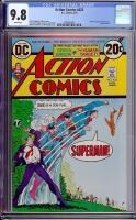 Action Comics #426 CGC 9.8 w