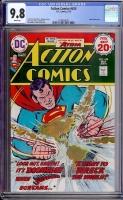 Action Comics #435 CGC 9.8 w