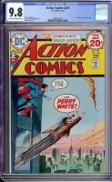 Action Comics #436 CGC 9.8 ow/w