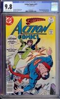 Action Comics #472 CGC 9.8 ow/w