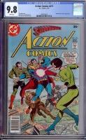 Action Comics #473 CGC 9.8 w