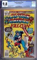 Captain America #218 CGC 9.8 w