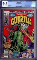 Godzilla #1 CGC 9.8 ow/w