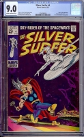 Silver Surfer #4 CGC 9.0 cr/ow