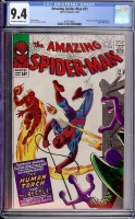 Amazing Spider-Man #21 CGC 9.4 ow/w