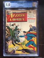 Action Comics #125 CGC 5.0 ow