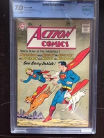 Action Comics #266 CBCS 7.0 cr/ow