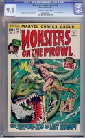 Monsters on the Prowl #16 CGC 9.8 ow/w