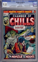 Chamber of Chills #2 CGC 9.8 w Don Rosa Collection