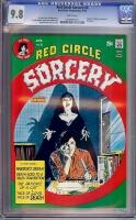 Red Circle Sorcery #6 CGC 9.8 w