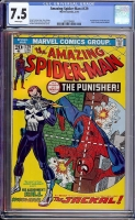 Amazing Spider-Man #129 CGC 7.5 w