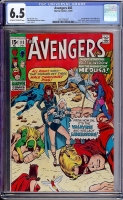 Avengers #83 CGC 6.5 ow/w