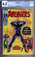 Avengers #87 CGC 6.5 w