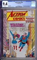 Action Comics #285 CGC 9.4 w