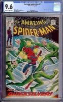 Amazing Spider-Man #71 CGC 9.6 ow/w