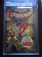 Amazing Spider-Man #46 CGC 8.5 ow