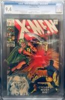 X-Men #54 CGC 9.4 ow/w