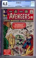 Avengers #1 CGC 4.5 ow/w