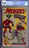 Avengers #2 CGC 6.5 ow