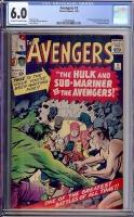 Avengers #3 CGC 6.0 cr/ow