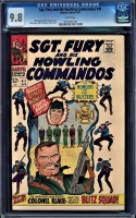 Sgt. Fury and His Howling Commandos #41 CGC 9.8 w
