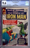 Tales of Suspense #54 CGC 9.6 ow/w Pacific Coast