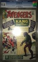 Avengers #8 CGC 9.8 ow/w