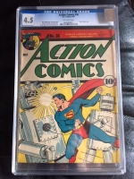 Action Comics #36 CGC 4.5 ow