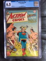 Action Comics #200 CGC 6.5 cr/ow