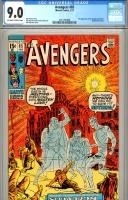 Avengers #85 CGC 9.0 ow/w