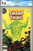 Saga of the Swamp Thing #37 CGC 9.6 w