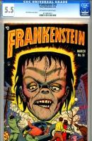 Frankenstein #18 CGC 5.5 ow/w