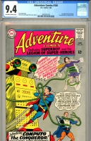 Adventure Comics #340 CGC 9.4 ow/w