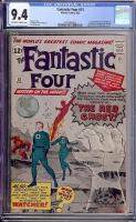 Fantastic Four #13 CGC 9.4 ow/w