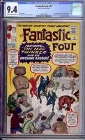 Fantastic Four #15 CGC 9.4 ow/w