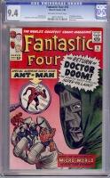 Fantastic Four #16 CGC 9.4 ow/w