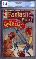 Fantastic Four #18 CGC 9.4 cr/ow