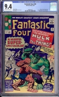 Fantastic Four #25 CGC 9.4 ow/w