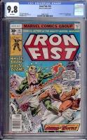 Iron Fist #14 CGC 9.8 w