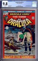 Tomb of Dracula #1 CGC 9.8 w