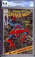 Amazing Spider-Man #100 CGC 9.4 ow/w